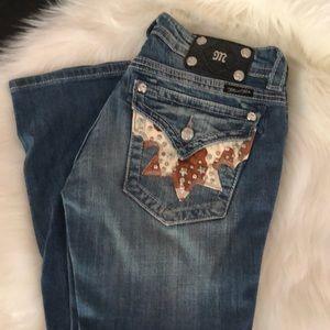 Miss me boot cut denim jeans 29 cowgirl